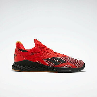 Reebok Training Nano X Men's Shoes in Red and Black Trainers