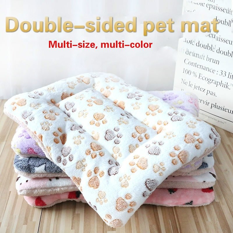 US $6.15 50% OFF|Pet Dog Mats Dog Beds,Thick Blankets for Pets In Winter,cartoon Kennels for Pets,Warm Sleeping Mats for Dogs with Cotton Quilts|Houses, Kennels & Pens| - AliExpress