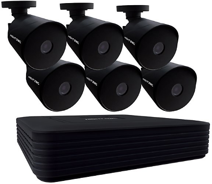 Channel 1080p Wired DVR, 6 Wired Cameras & 1TB HDD