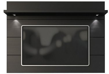 Cabrini Floating Wall TV Panel 1.8 in Nut Brown