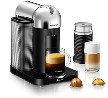 Nespresso® By Breville® VertuoLine Coffee and Espresso Maker Bundle with Aeroccino Frother | Bed Bath & Beyond