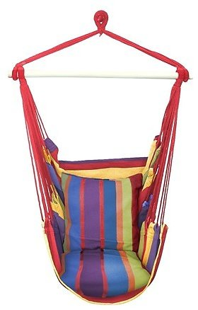 Sorbus Hanging Rope Hammock Swing Chair, Your Choice of Color