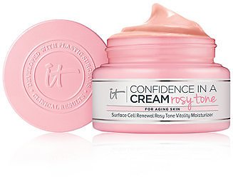 IT Cosmetics Confidence In A Cream Rosy Tone Brightening Moisturizer & Reviews - Skin Care - Beauty