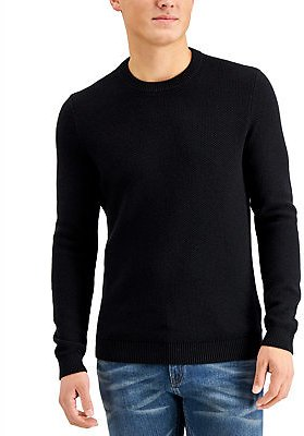Michael Kors Men's Regular-Fit Textured Stitch Sweater, Created for Macy's & Reviews - Sweaters - Men