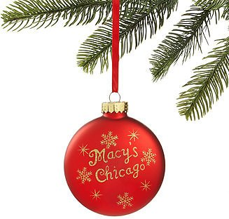 Holiday Lane Chicago Walnut Room Ornament Created for Macy's & Reviews - Home