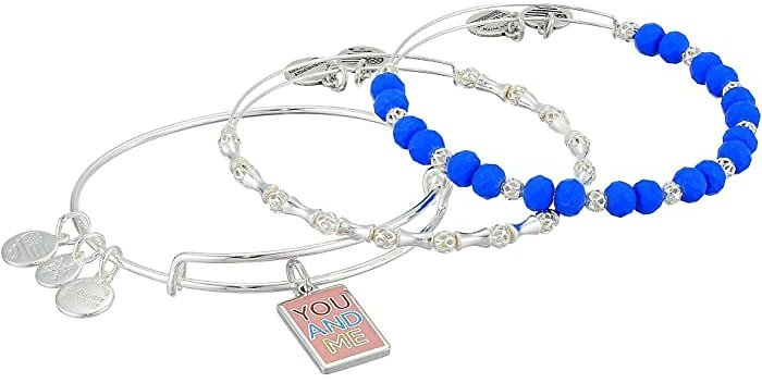Color Infusion Me and You Set of 3 Bangle Bracelet