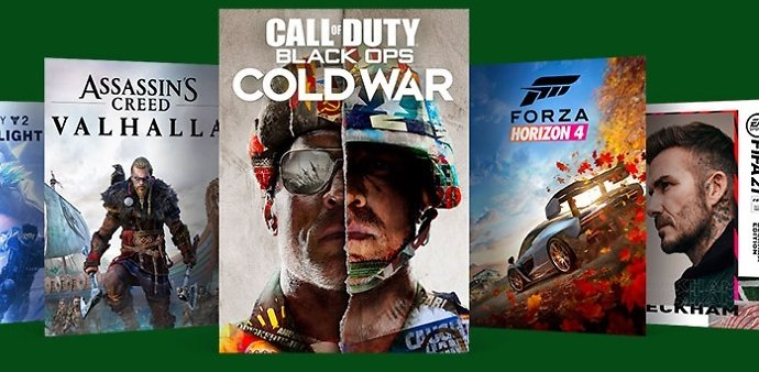Up to 55% Off Xbox Games