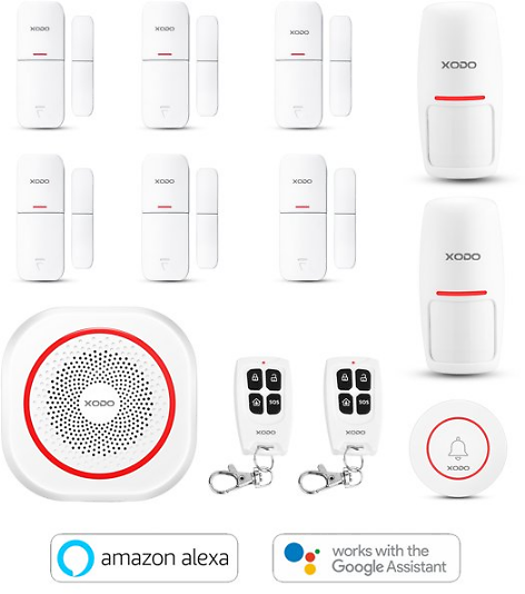 XODO Wifi Smart Home Surveillance Security System Kit