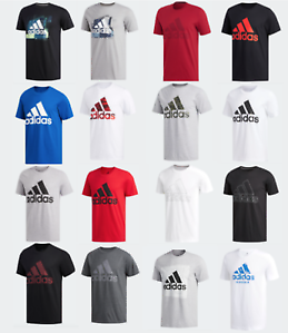 Adidas Badge of Sport Tee Mens Small to 2XL Authentic Short Sleeve T Shirts