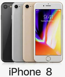 Details About Apple Iphone 8 256GB 128GB Gold Space Grey Silver Red Sim Free Various Grades