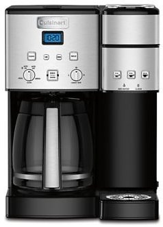 Cuisinart® Coffee Center™ 12-Cup Coffee Maker and Single Serve Brewer | Bed Bath & Beyond