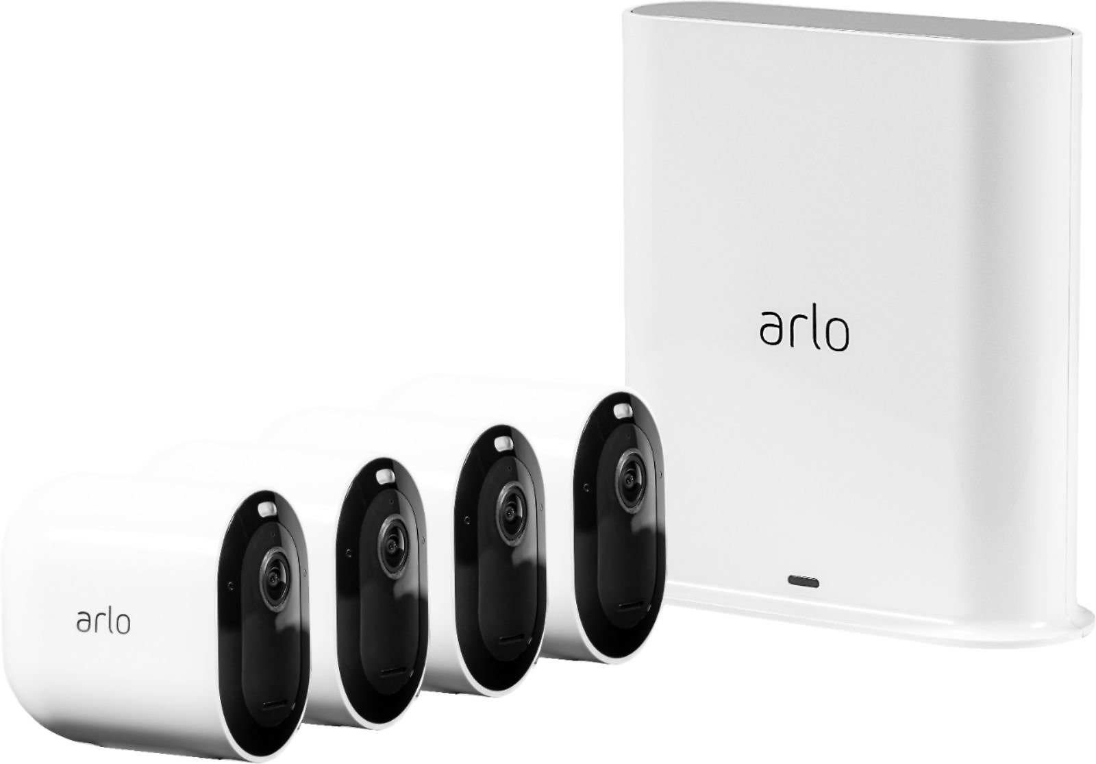 Save $300! Arlo Pro 3 4-Camera Indoor/Outdoor Wire-Free 2K HDR Security Camera System