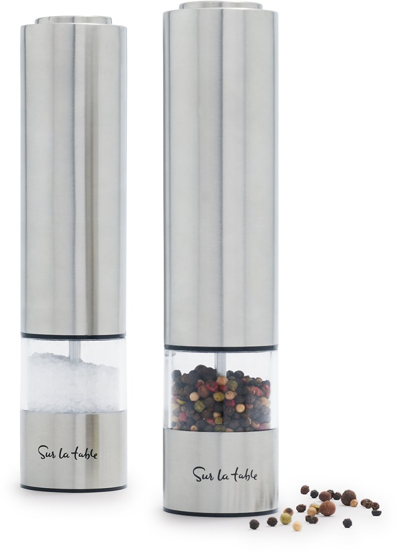 Sur La Table Electric Salt & Pepper Mill Set | Sur La Table