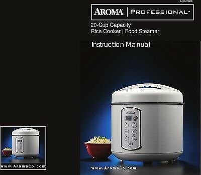 Aroma Professional Rice Cooker ARC-2000