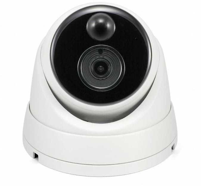 Swann 4k Dome IP Camera Hardwired Wired Indoor/Outdoor Security Camera Lowes.com