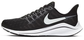 Nike Air Zoom Vomero 14 Women's Running Shoe - Black/Thunder Grey/White