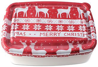 Enchante Cook with Color Holiday 20-Pc. Food Container Set