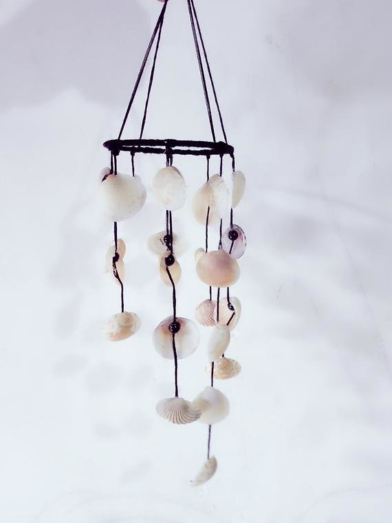 Sea Shell Wind Chime Home Decor,Garden Decor Shell Mobile,Shell Wind Chime.