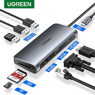 Ugreen USB C Type C HUB to Multi USB 3.0 HDMI Adapter for MacBook Dell XPS15