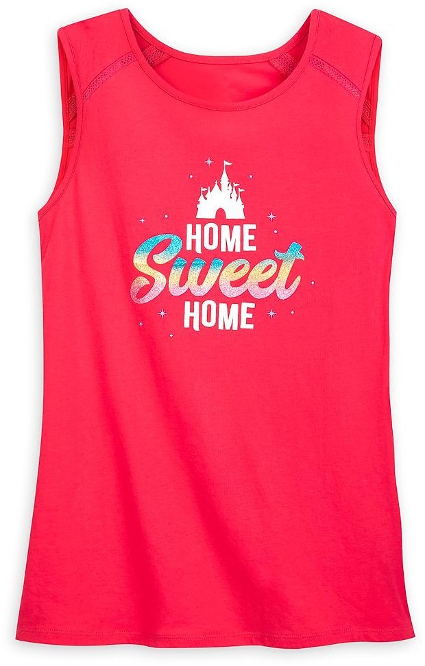 Fantasyland Castle ''Home Sweet Home'' Tank Top for Women | ShopDisney