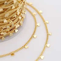 Wholesale Latest Factory Wholesale Jewelry 1.6mm 14k Gold Plated Brass Chain for Necklace Earrings Making From M.alibaba.com