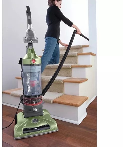 Hoover UH70120 WindTunnel TSeries Rewind Plus Bagless Upright Vacuum Cleaner