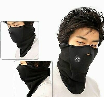 Outdoor Sports Face Mask Airsoft Warm Fleece Bike Neck Cover Protection Cycling