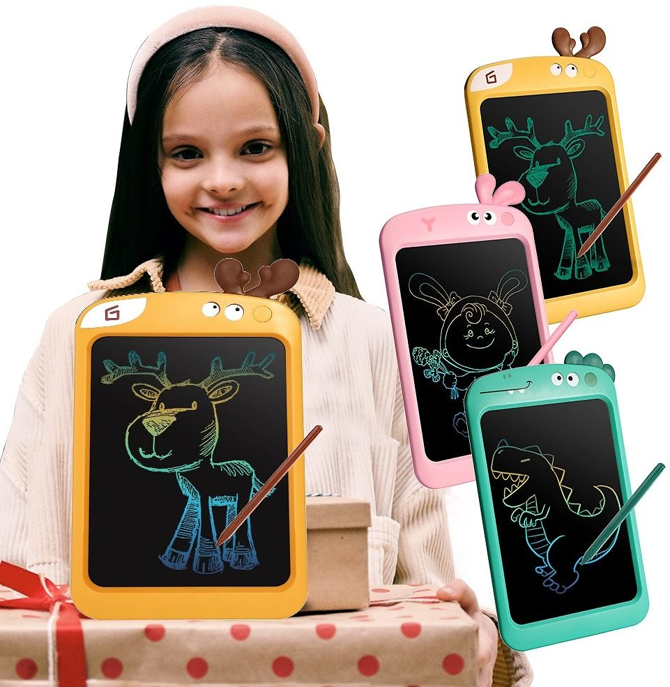 US $7.83 64% OFF|Cartoon Kids LCD Writing Tablet Children Handwriting Pads Pre School Toddlers Electronic Digital Drawing Board Girls Pink Gift|Drawing Toys| - AliExpress