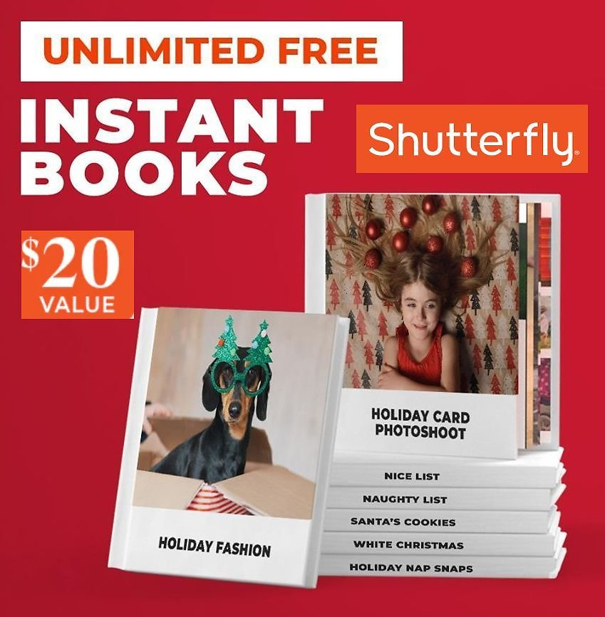 20-Page 6x6-inch Hardcover Photo Book + F/S