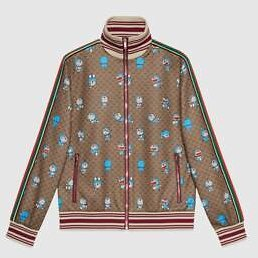 Gucci - Doraemon X Gucci Technical Jersey Jacket