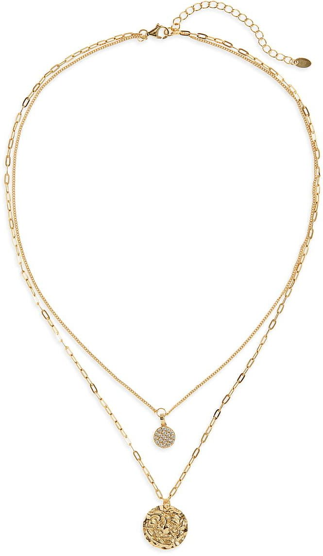 Argento Vivo Sterling Silver Layered Pendant Necklace | Nordstrom
