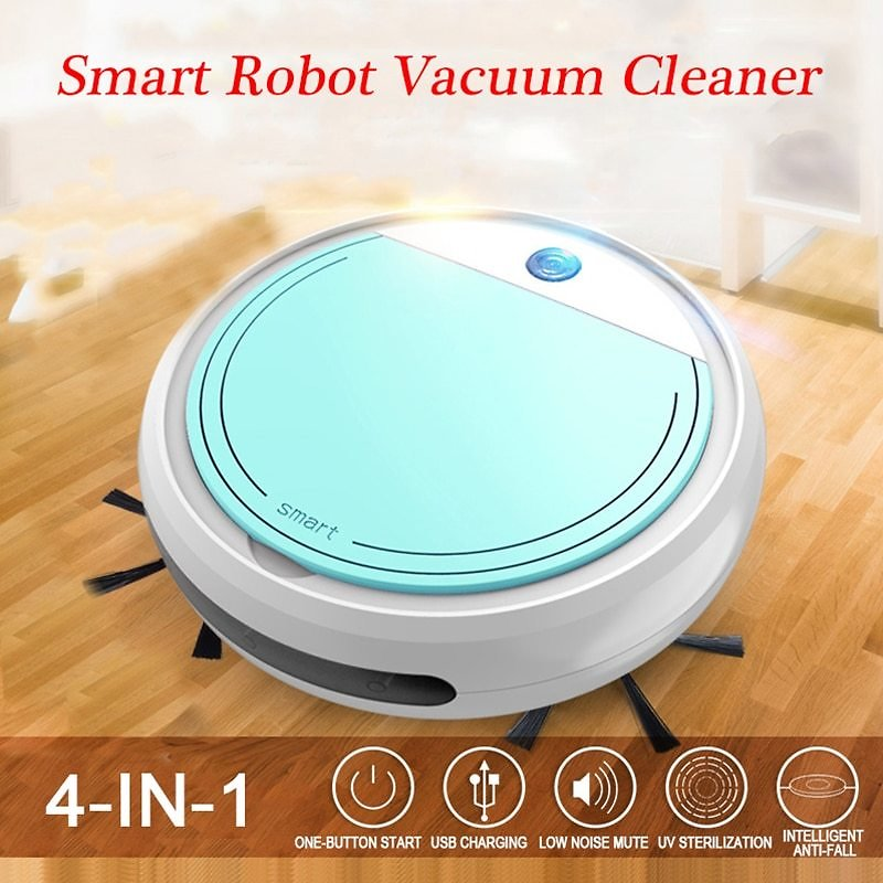 US $43.45 50% OFF|Portable Robot Vacuum Cleaner Fully Automatic 4 in 1 USB Charging Sweep Cleaning Robot Vacuum Cleaner Wireless Vacuum|Vacuum Cleaners| - AliExpress