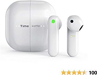 Timekettle M2 Language Translator Earbuds - Supports 40 Languages & 93 Accent Online, Instant Voice Language Translator with Bluetooth & APP, True Wireless Earbuds for Music and Call Fit IOS & Android