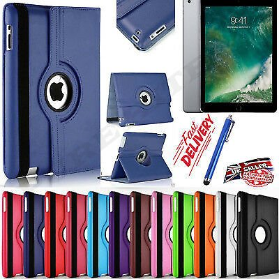 Pu Leather 360 Rotating Smart Stand Case Cover For Apple IPAD Mini Pro Air 10.2