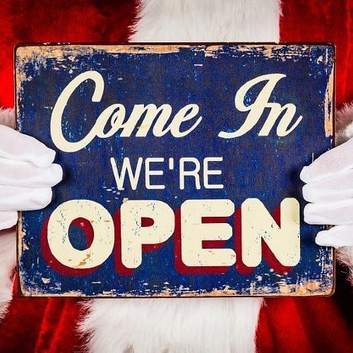 Stores Opened & Closed for Christmas 2020