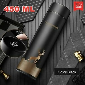 Thermos Cup Intelligent Temperature Display Stainless Steel Cup Vacuum Bottle #