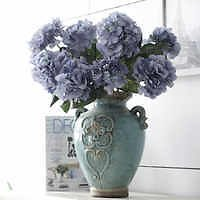 Source Shininglife Brand Flowers Artificial Wedding Decoration Flowers 6 Heads Bouquet of Hydrangeas with Fruit On M.alibaba.com
