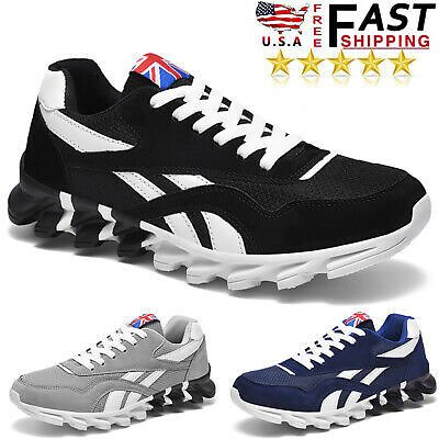 Men's Casual Running Shoes Walking Sports Gym Athletic Tennis Jogging Sneakers