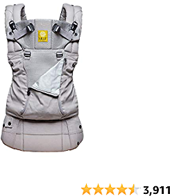 LÍLLÉbaby Complete All Seasons Six-Position 360° Ergonomic Baby and Child Carrier, Stone