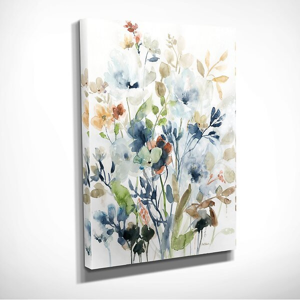 'Holland Spring Mix I' - Wrapped Canvas Painting Print
