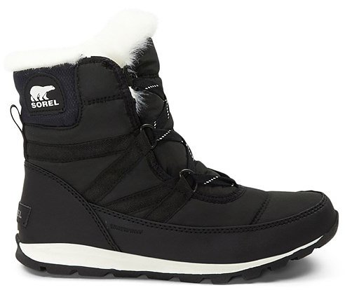 Womens Sorel Whitney Short Boot - Black