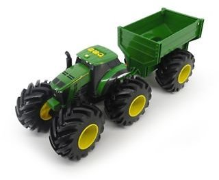 John Deere Monster Treads Tractor with Wagon, 1:1, 46260 At Tractor Supply Co.