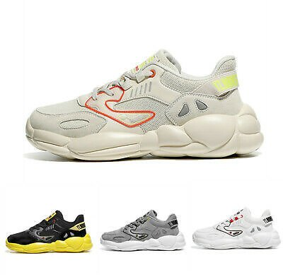 Mens Athletic Low Top Casual Sport Outdoor Match Colors Sneakers Hiking Shoes