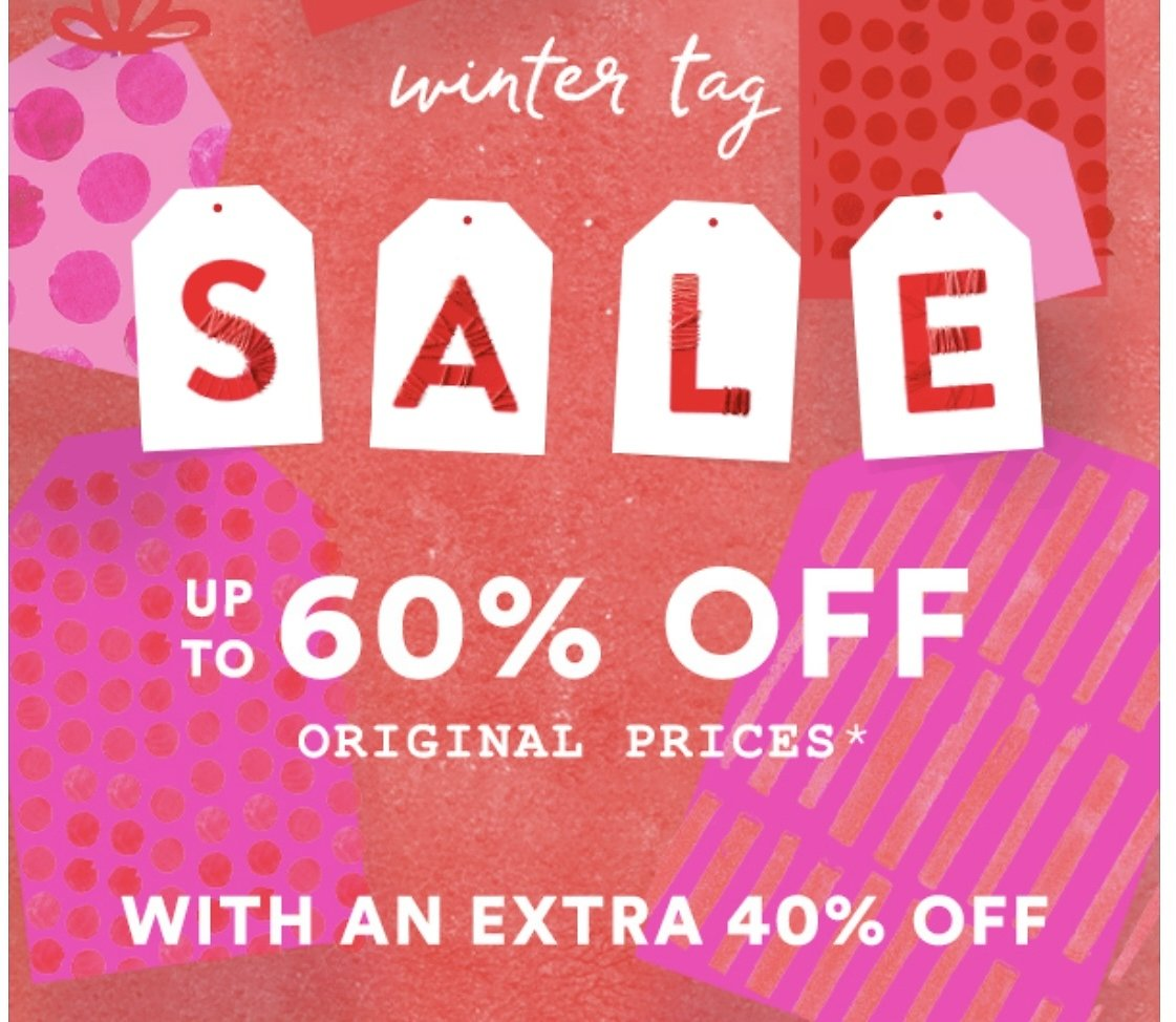 Up to 60% Off Winter Sale + Extra 40% Off | Best Sale Products