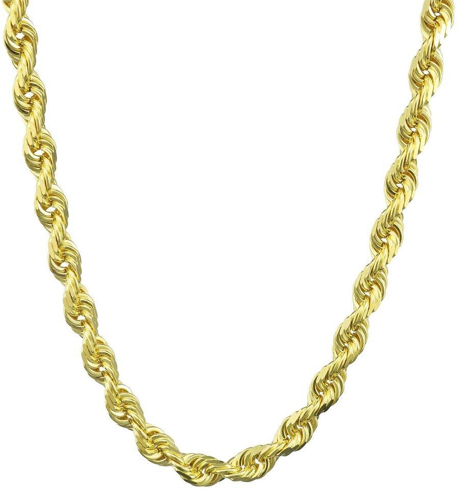 10K Solid Gold Rope Chain