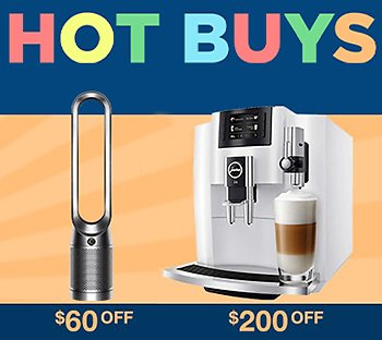 Up to $1000 Off Online-Only Hot Buys