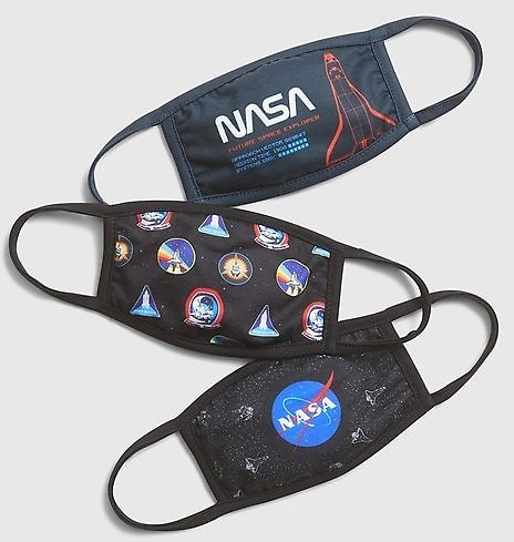 Kids Nasa Face Mask (3-Pack) | Gap