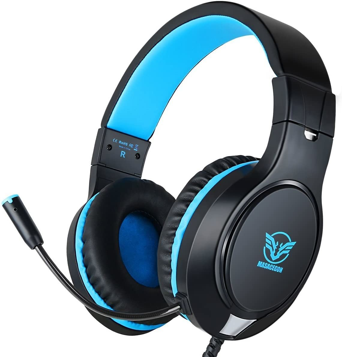 43% Off Gaming Headset for Xbox One, PS4,Nintendo Switch Bass Surround and Noise Cancelling with Flexible Mic, 3.5mm Wired Adjus