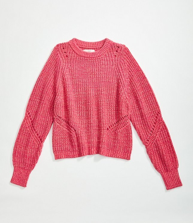 Women's Ribbed Sweater in 2 Colors | LOFT