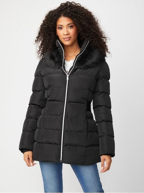 Delice Hooded Puffer Jacket